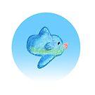 Mola Mola (Crayon) by slugspoon