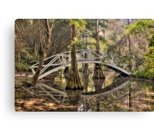 Cypress Swamp - Magnolia Plantation and Gardens Canvas Print