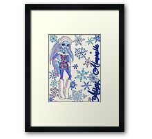 Abbey Abominable Framed Print