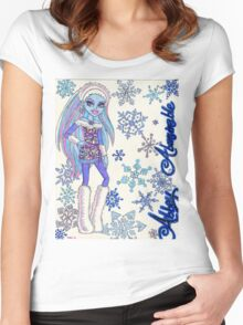 Abbey Abominable Women's Fitted Scoop T-Shirt