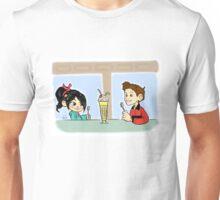 Vanellope and Hogarth Unisex T-Shirt