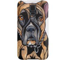 Dog Art #14: Chelsea the Boxer Samsung Galaxy Case/Skin