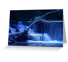 Stairs Of Water Greeting Card