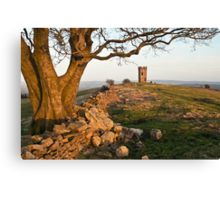 The Folly Tower Canvas Print