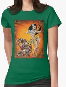 Fink Hula Party Womens Fitted T-Shirt