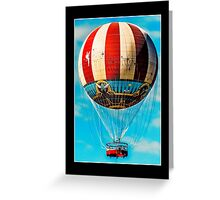 beautiful balloon Greeting Card