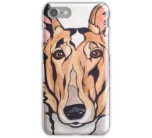 Dog Art #8: Cassidy the Smooth Collie iPhone Case/Skin