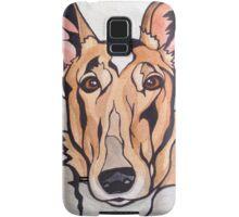 Dog Art #8: Cassidy the Smooth Collie Samsung Galaxy Case/Skin