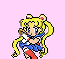 Sailor Moon - pixel art by galegshop