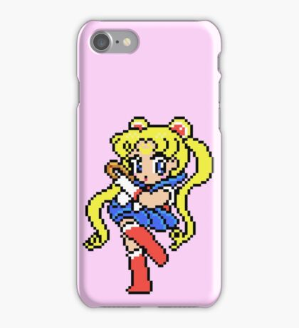 Sailor Moon - pixel art iPhone Case/Skin