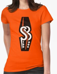 Side Boob Logo Womens Fitted T-Shirt