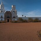 San Xavier del Bac by Richard G Witham