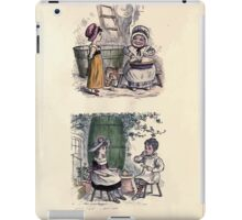 The Little Folks Painting book by George Weatherly and Kate Greenaway 0143 iPad Case/Skin