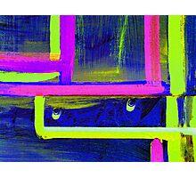 Neon Door 2 Photographic Print