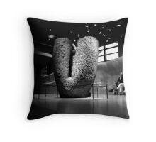 Mégalithe - Musée du Quai Branly  Throw Pillow