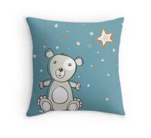White polar bear Throw Pillow