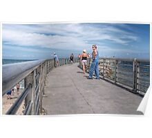 A Walk On The Jetty Poster
