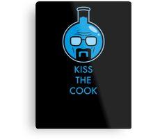 Kiss The Cook Metal Print