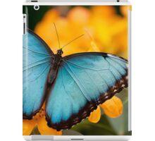 Peleides Blue Morpho iPad Case/Skin