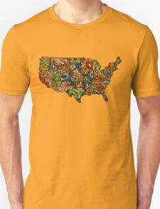 United States of Abstraction T-Shirt
