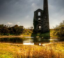 Mine in cornwall HDR by Simon Marsden