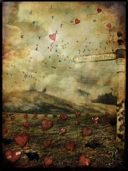 Fallow Hearts Field by Sybille Sterk