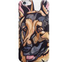 Dog Art #10: Harry the German Shepherd Dog iPhone Case/Skin