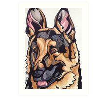 Dog Art #10: Harry the German Shepherd Dog Art Print