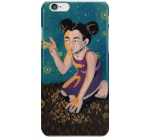 Starry Night of Fireflies iPhone Case/Skin