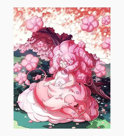 Rose and Lion Photographic Print