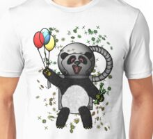 Pascal the Pot Smoking Space Panda Unisex T-Shirt