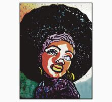 BLACK IS BEAUTIFUL: A IS FOR AFRO by SOL  SKETCHES™