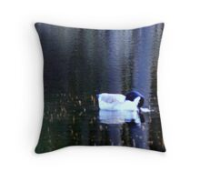 Water World - Painted in Colour Throw Pillow