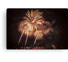 Giant Sparklers Canvas Print