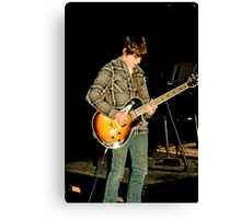 Live and on stage! Canvas Print
