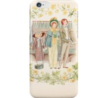 Mrs Leicester's School Charles & Mary Lamb with Minifred Green 18xx 0164 Happy Day Sain Mary's Church iPhone Case/Skin