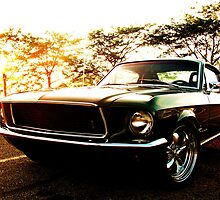 Late 60's mustang cobra by Rachel Sinisi