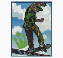 SKATE NATION -- PIPELINE by SOL  SKETCHES™