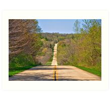 Country Drive Art Print