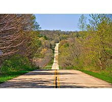 Country Drive Photographic Print