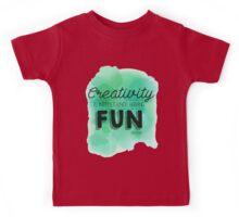 Creativity Is.... Kids Tee