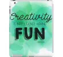 Creativity Is.... iPad Case/Skin