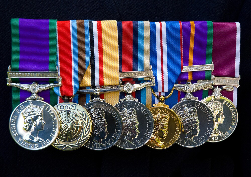 Campaign Medals by nikonpete