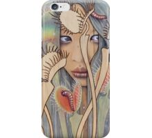 Dionaea (Venus Fly Trap) iPhone Case/Skin