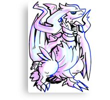 Pokemon - The Legendary Reshiram Canvas Print
