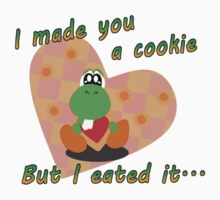 Yoshi Eated the Cookie Kids Clothes