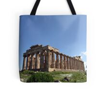 """Temple E"" - Archaeological Park of Selinunte, Sicily Tote Bag"