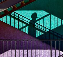 A Stranger on the Stairs by Justin Baer