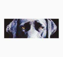 Black Labrador Retriever Dog Art - Lab Eyes Kids Clothes