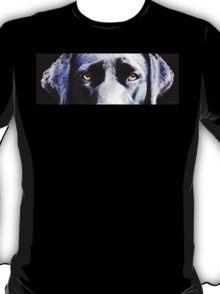 Black Labrador Retriever Dog Art - Lab Eyes T-Shirt